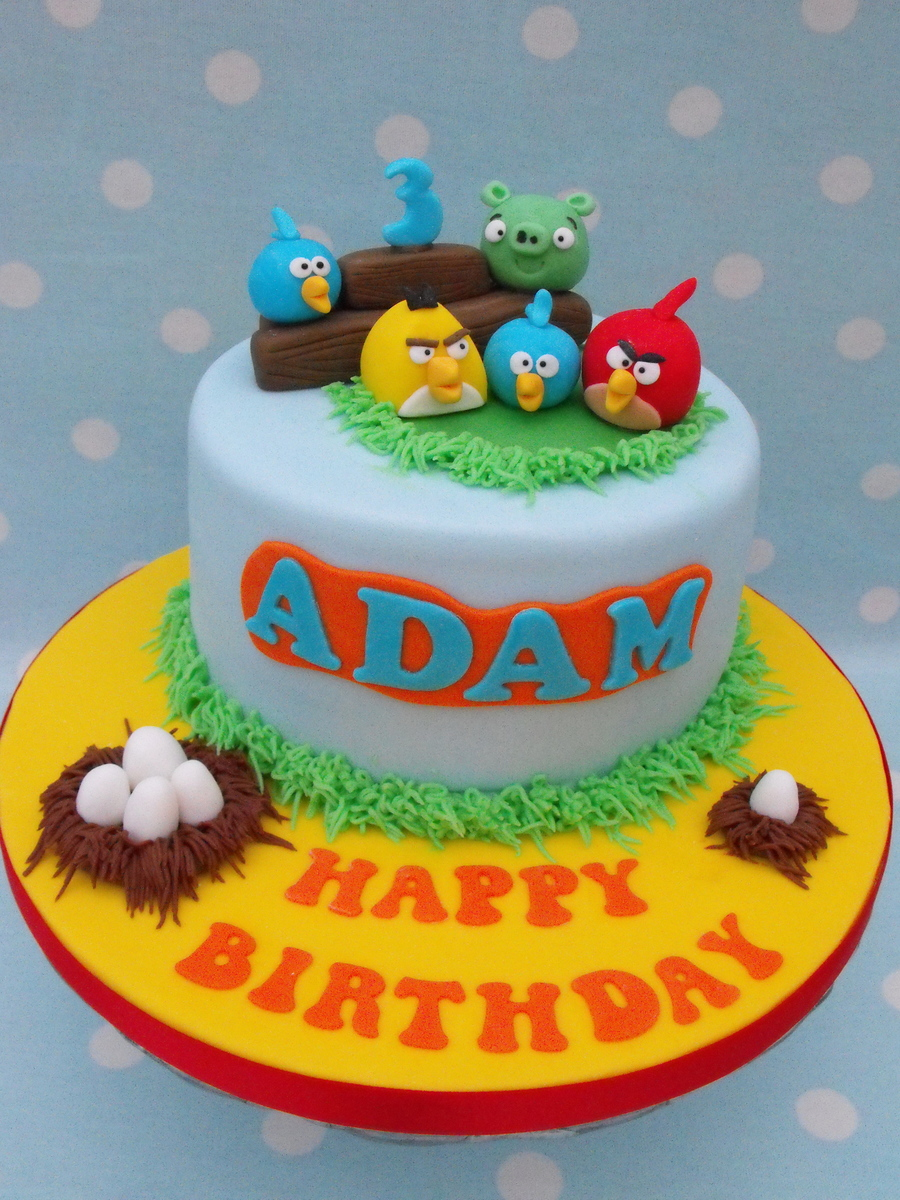 Angry Birds Cake on Cake Central