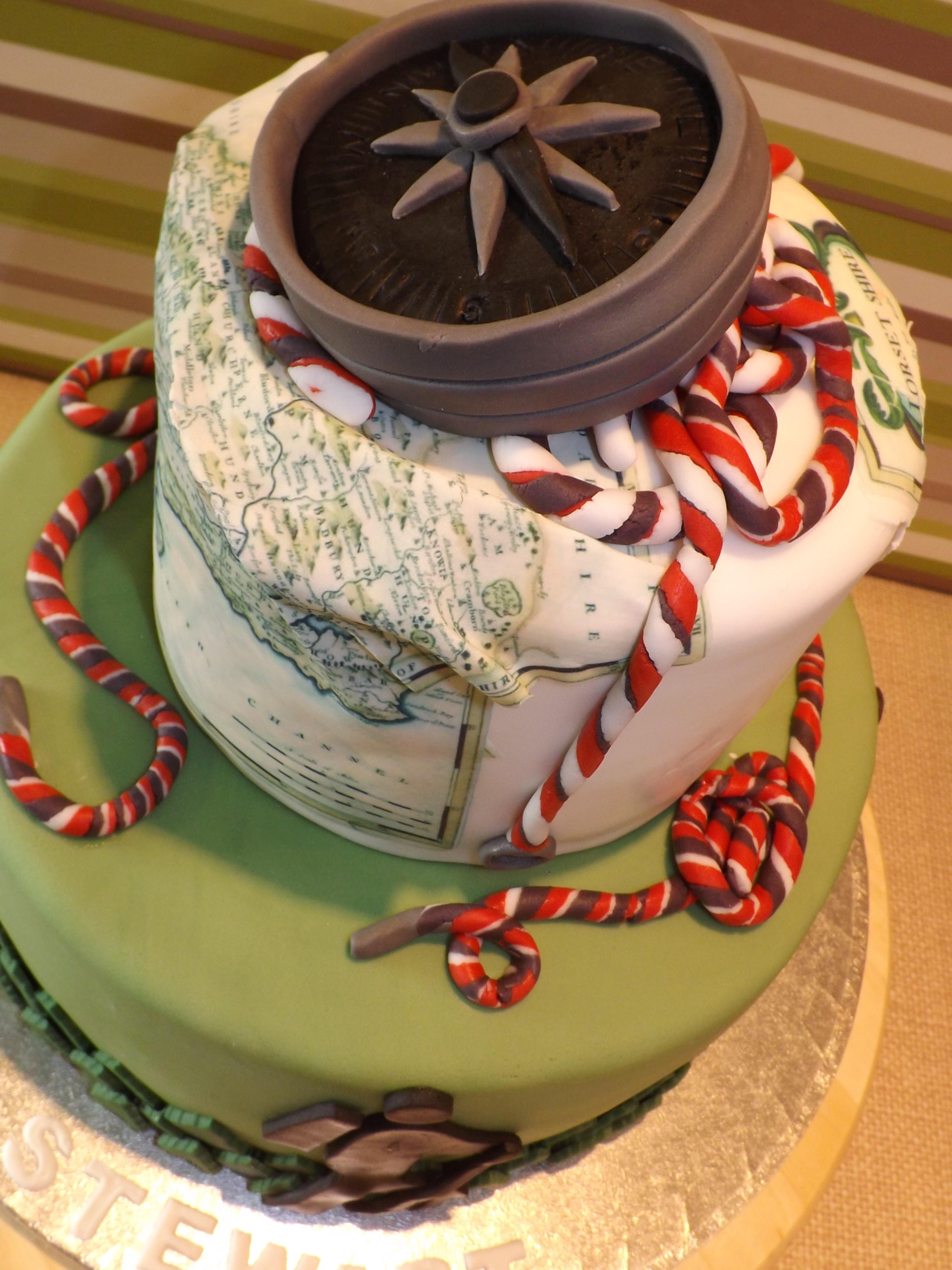 Hiking Themed Birthday Cake Cakecentral