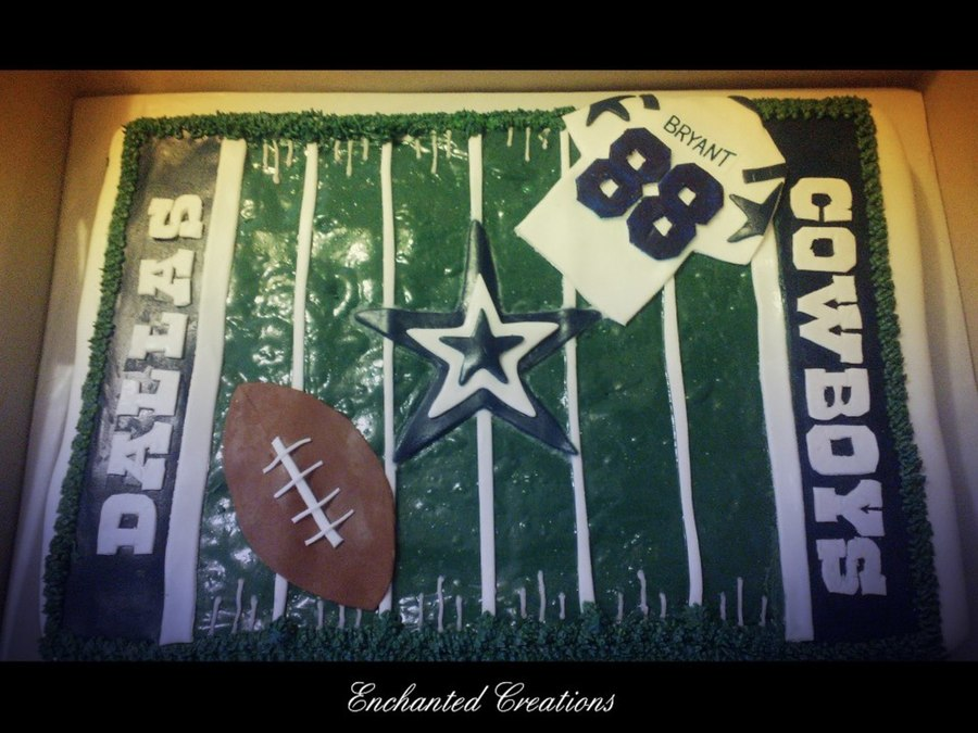 Dallas Cowboys Football Field Cake on Cake Central