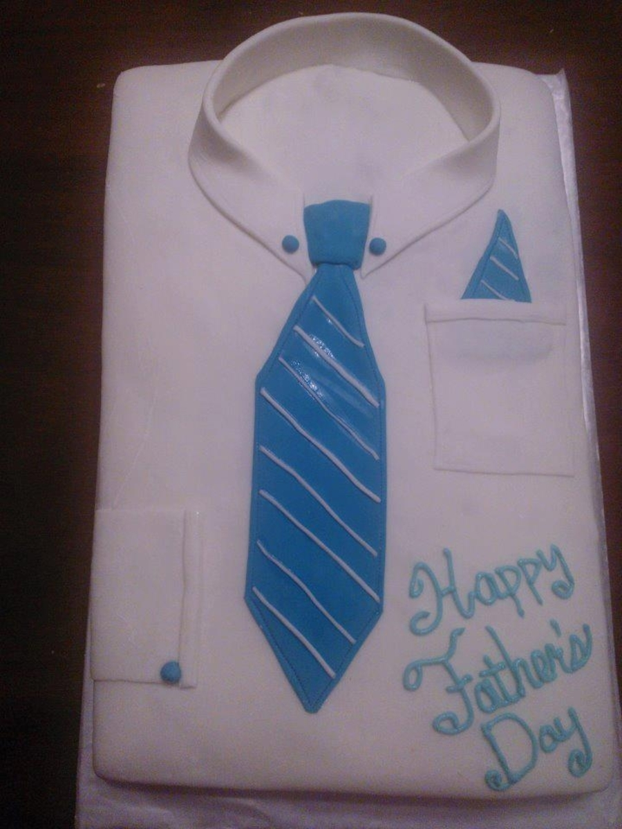 Dress Shirt And Tie on Cake Central