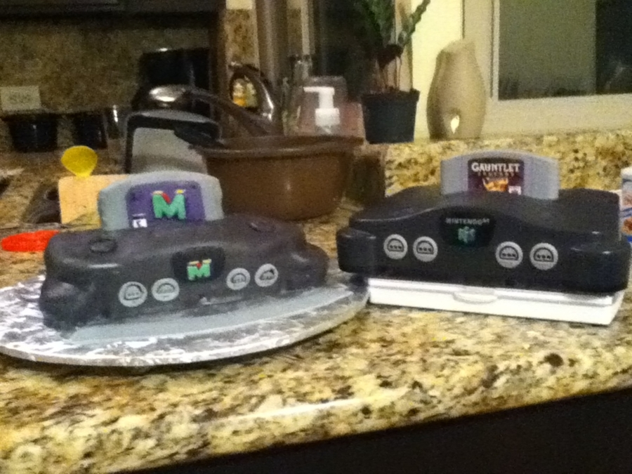 Nintendo on Cake Central