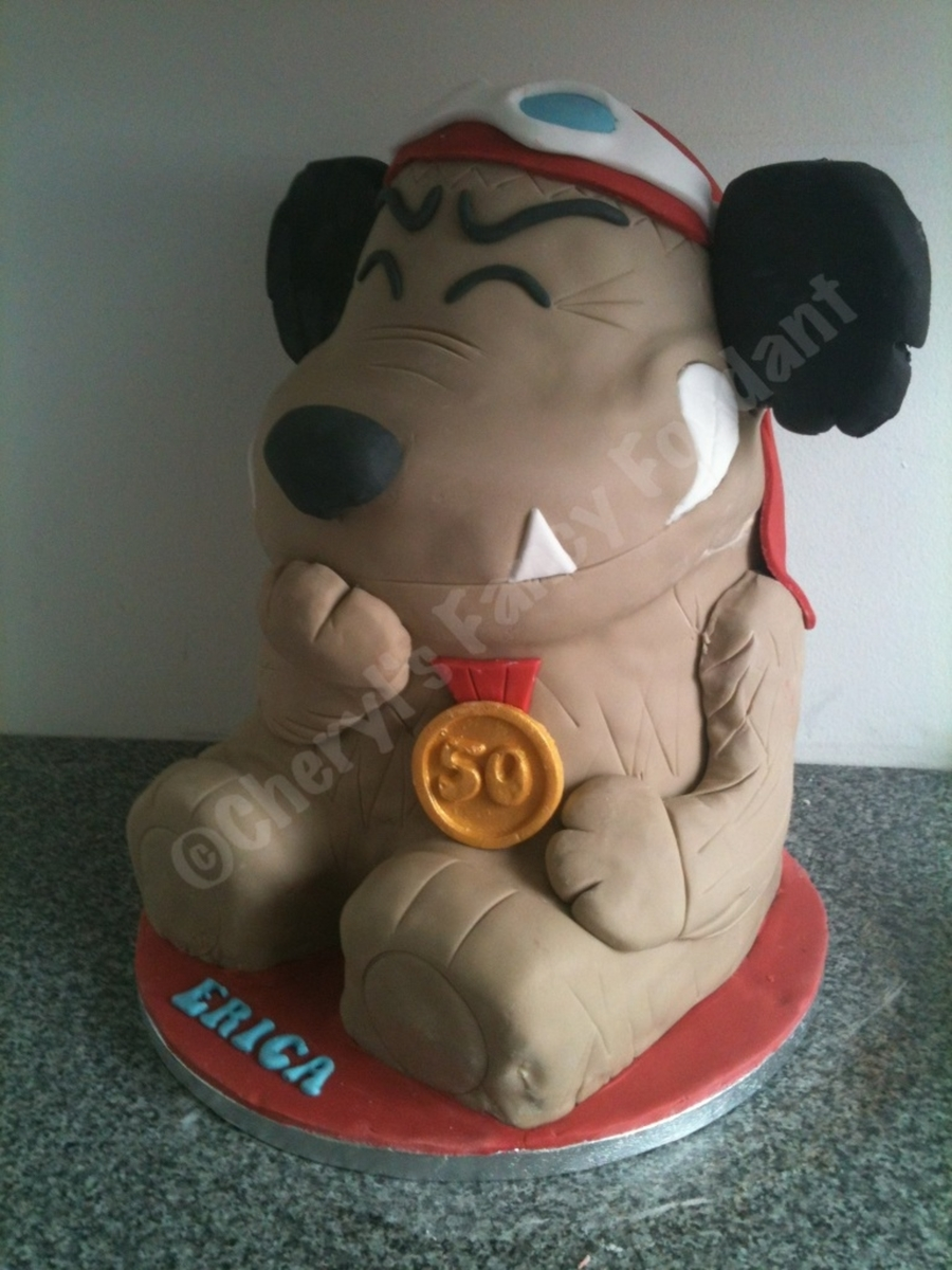 Mutley on Cake Central