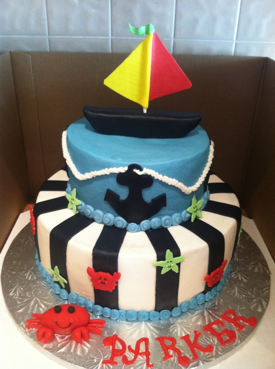 Nautical Cake  on Cake Central