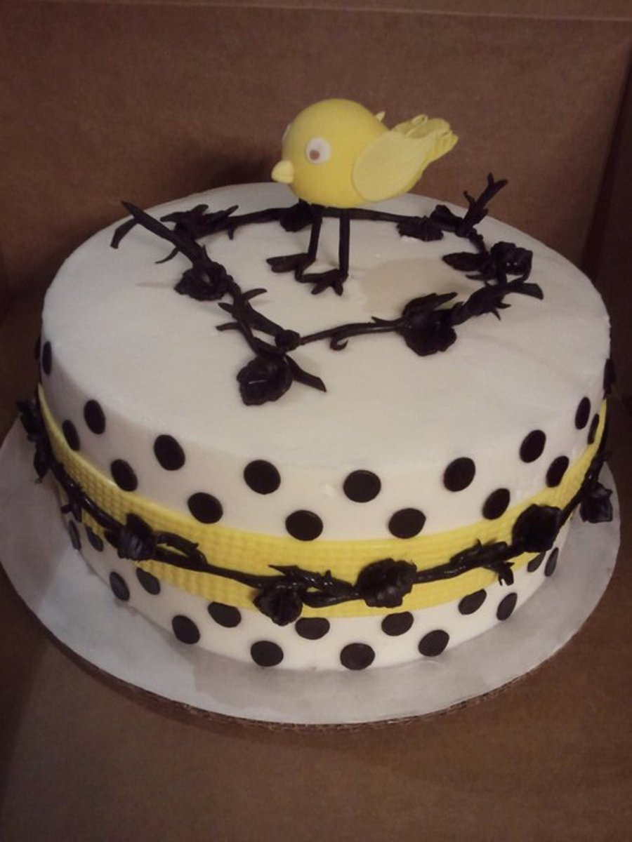 Chirp Chirp on Cake Central