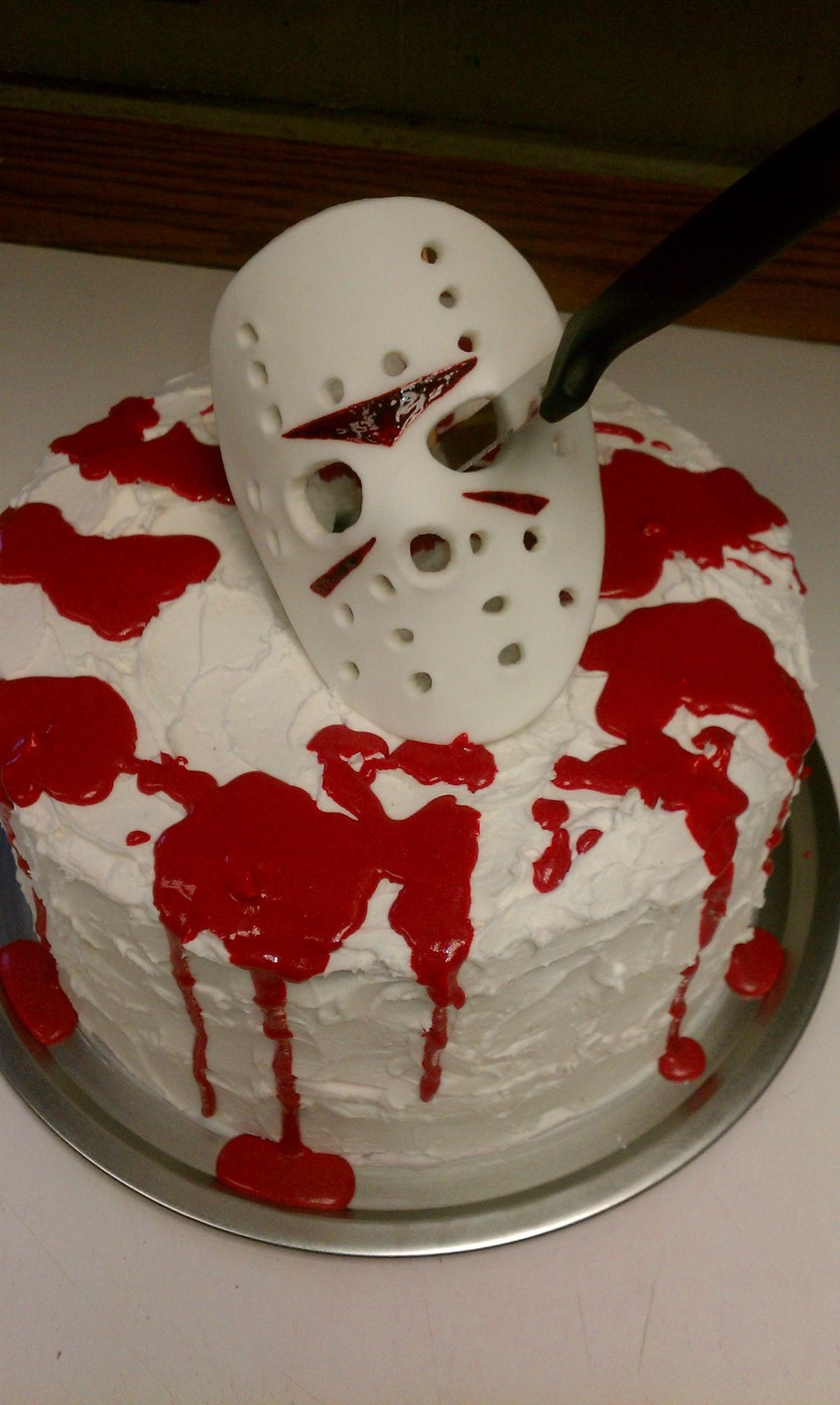 Jason Voorhees - Halloween Cake on Cake Central