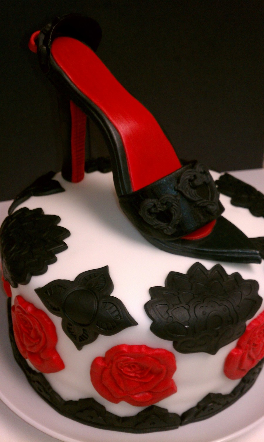 High Heel Birthday Cake CakeCentralcom