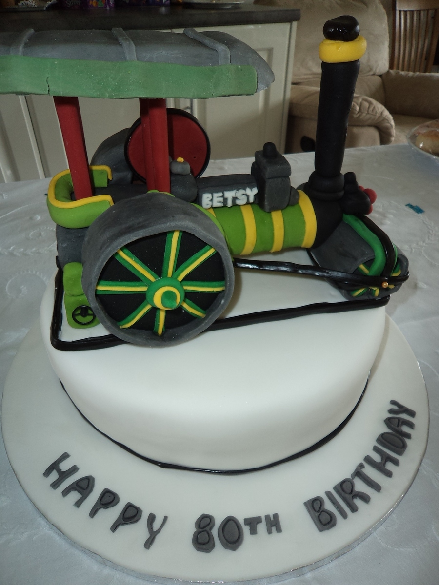 Steam Train Cake Decorations