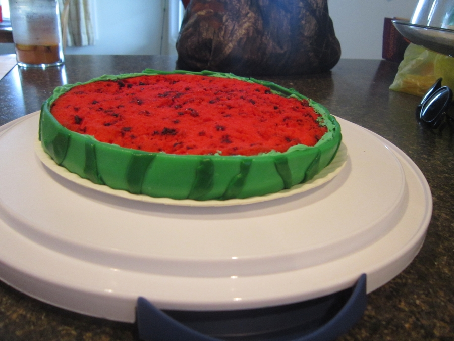 Watermelon Cake on Cake Central