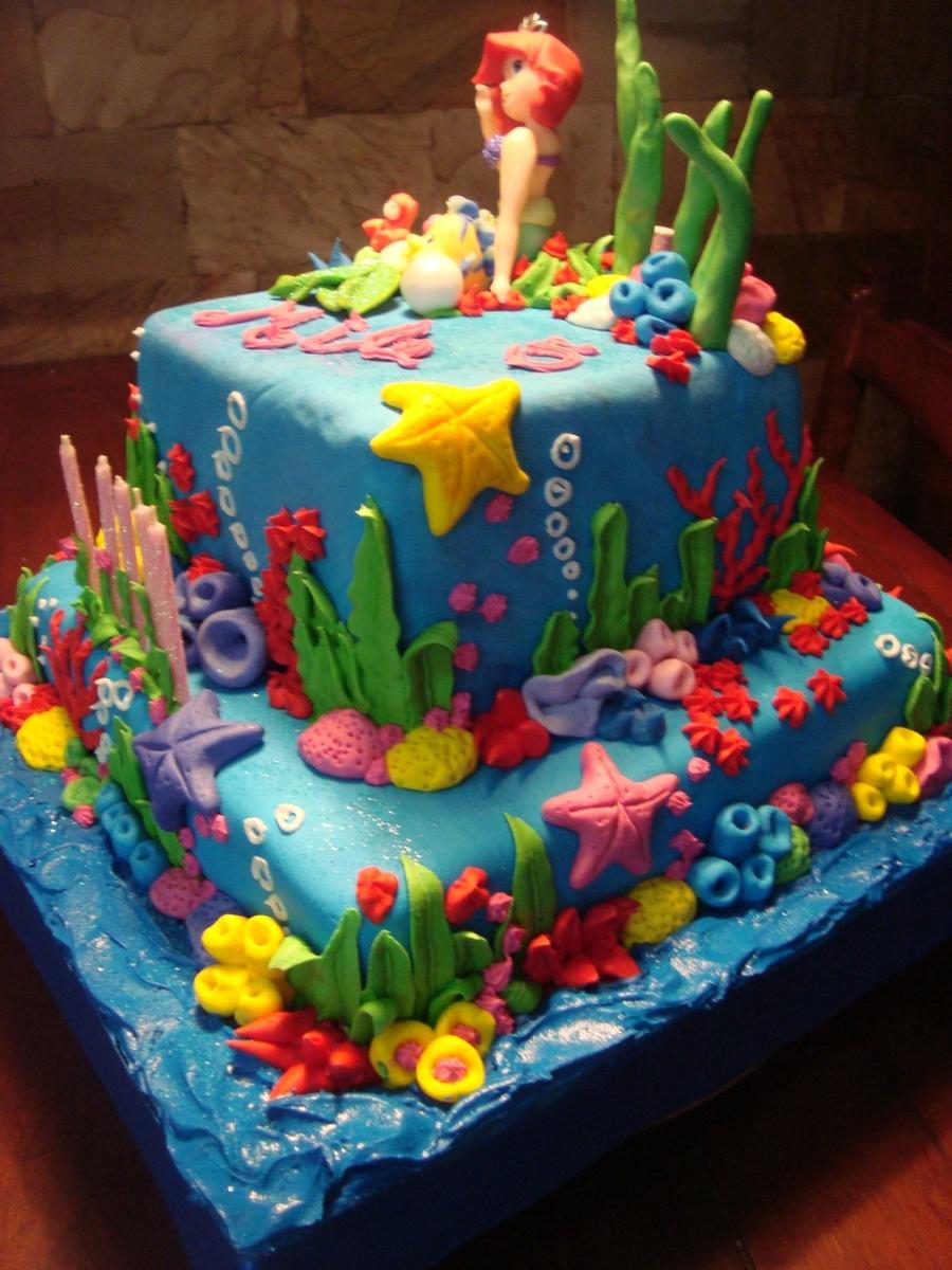 La Sirenita Cakecentral Com