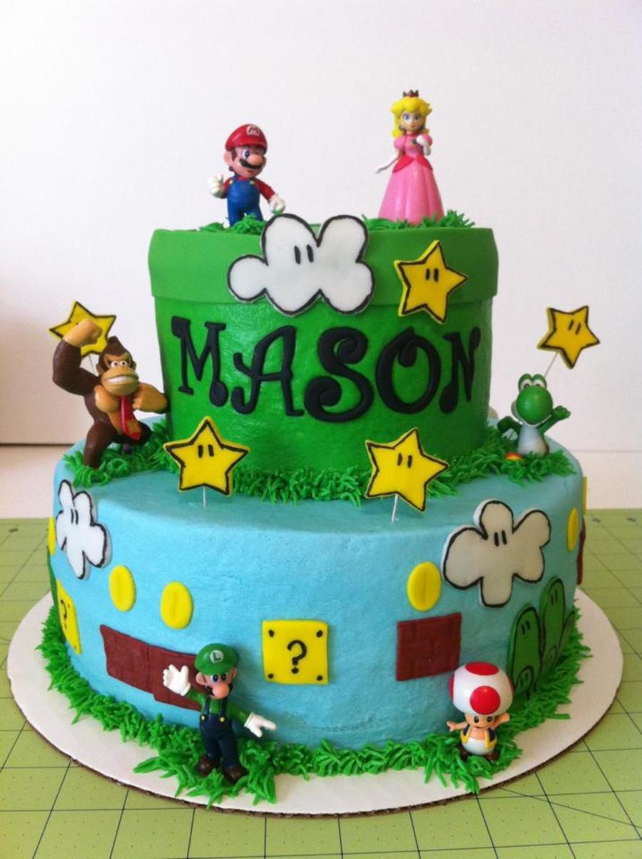 Mario Brothers Cake on Cake Central
