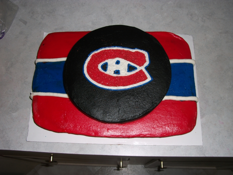 Montreal Birthday Cake on Cake Central