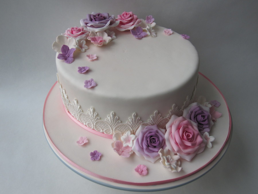 Brilliant For A 50 Year Old Rose Cakecentral Com Personalised Birthday Cards Veneteletsinfo