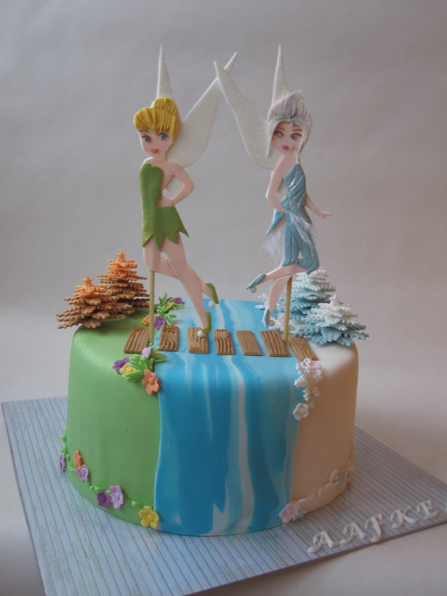 Tinkerbell And The Secret Of The Wings Cake Cakecentral Com