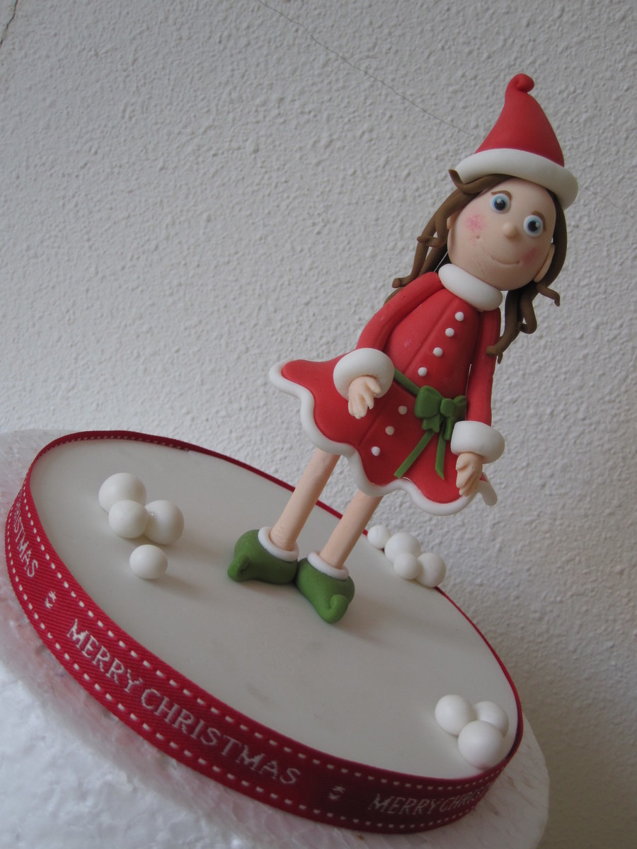 Christmas Elf on Cake Central