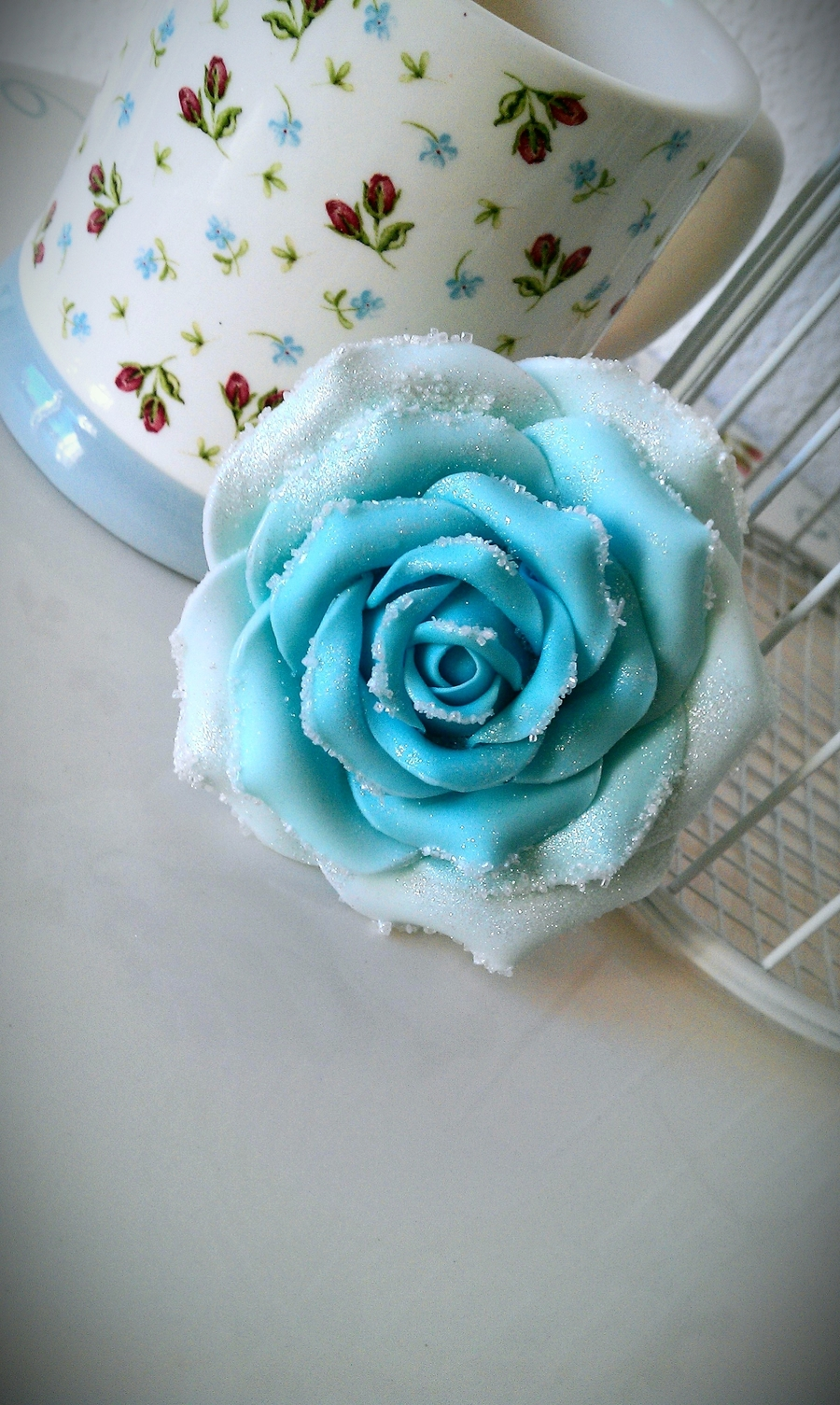 A Cold Rose on Cake Central