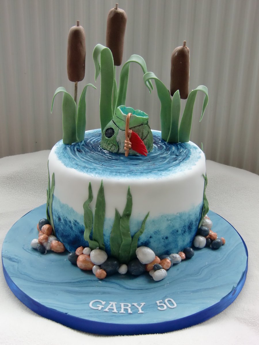 Fishing cake for Fishing cake ideas