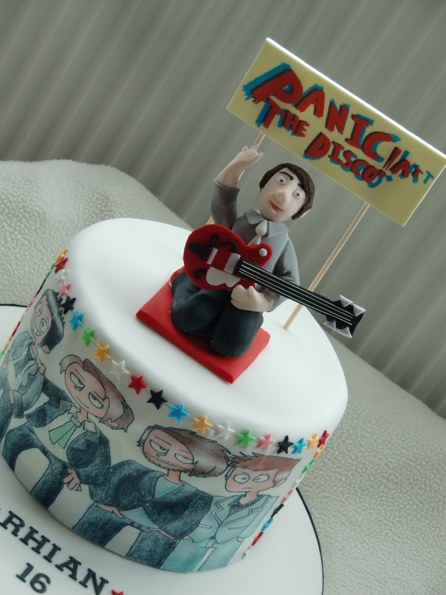 Panic At The Disco Cake Images