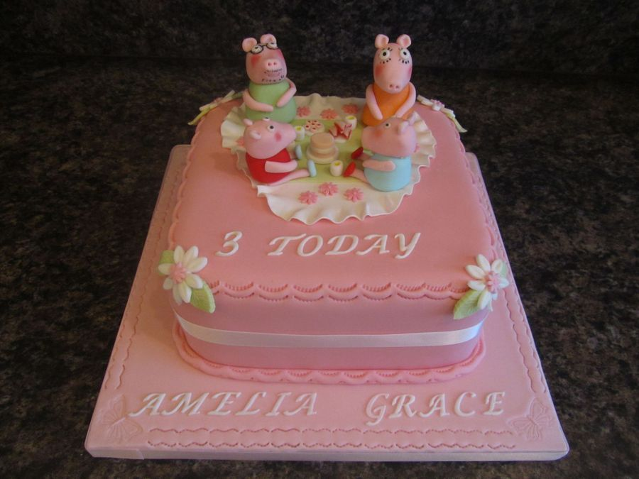 Peppa Pig Cake on Cake Central