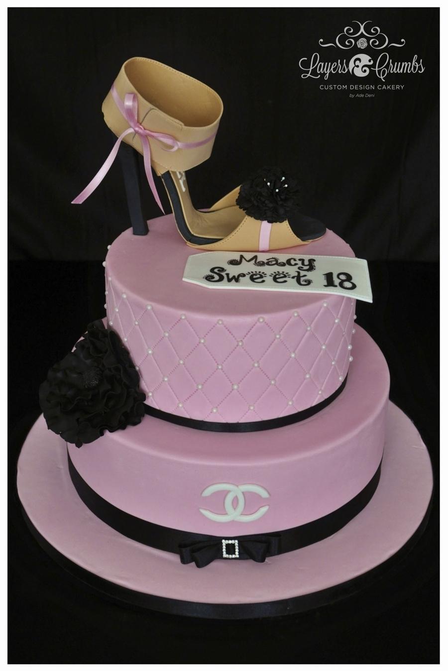 Birthday Cakes Shoe Design