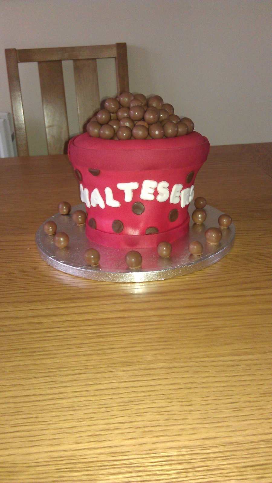 Bucket Of Maltesers Anyone?  on Cake Central