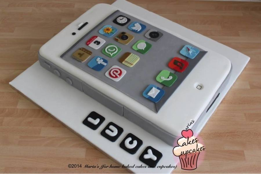 Iphone Cake Cakecentral Com
