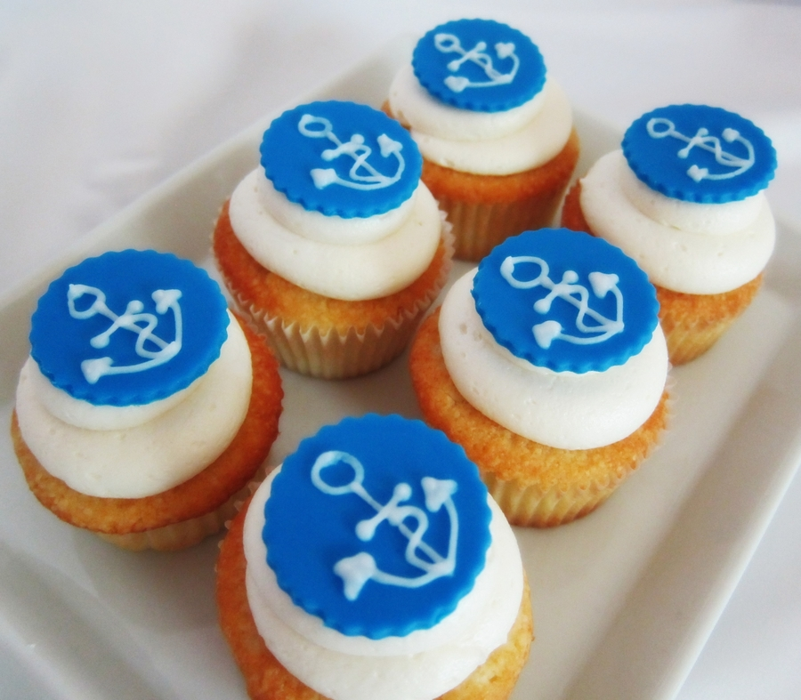 Sailor Cupcakes on Cake Central