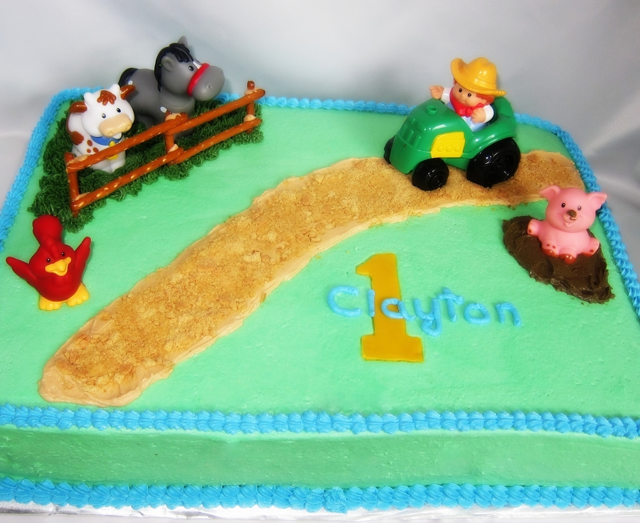 Little People Cake on Cake Central