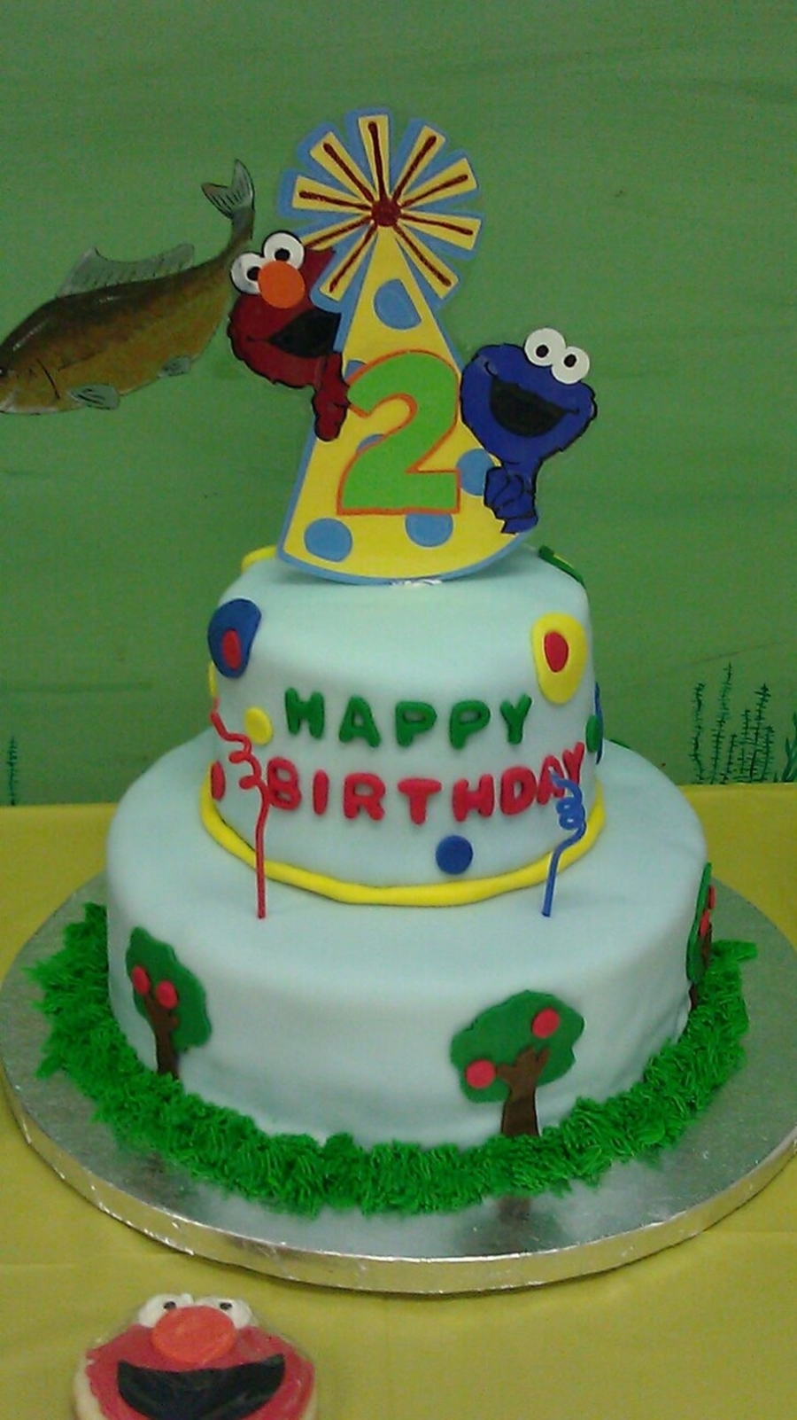 Cookie Monster & Elmo Cake on Cake Central