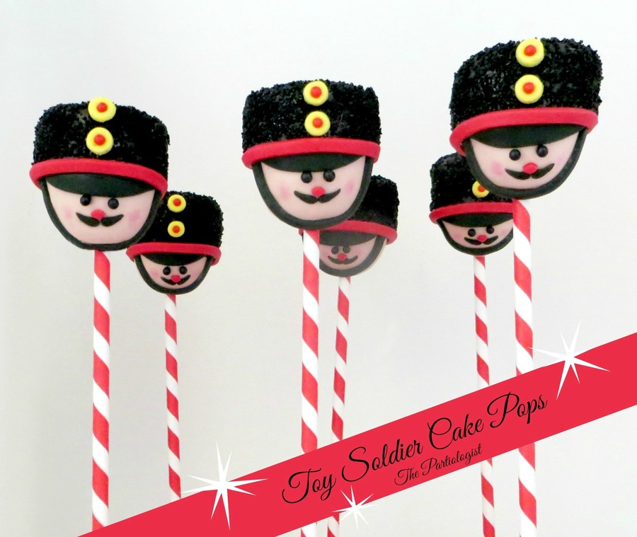 Toy Soldier Cake Pops! on Cake Central