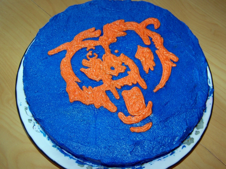 Chicago Bears on Cake Central