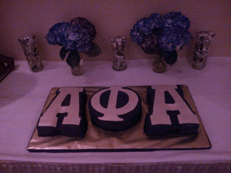 Alpha Phi Alpha Cake on Cake Central