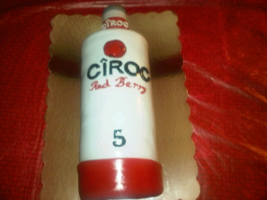 Ciroc Red Berry on Cake Central