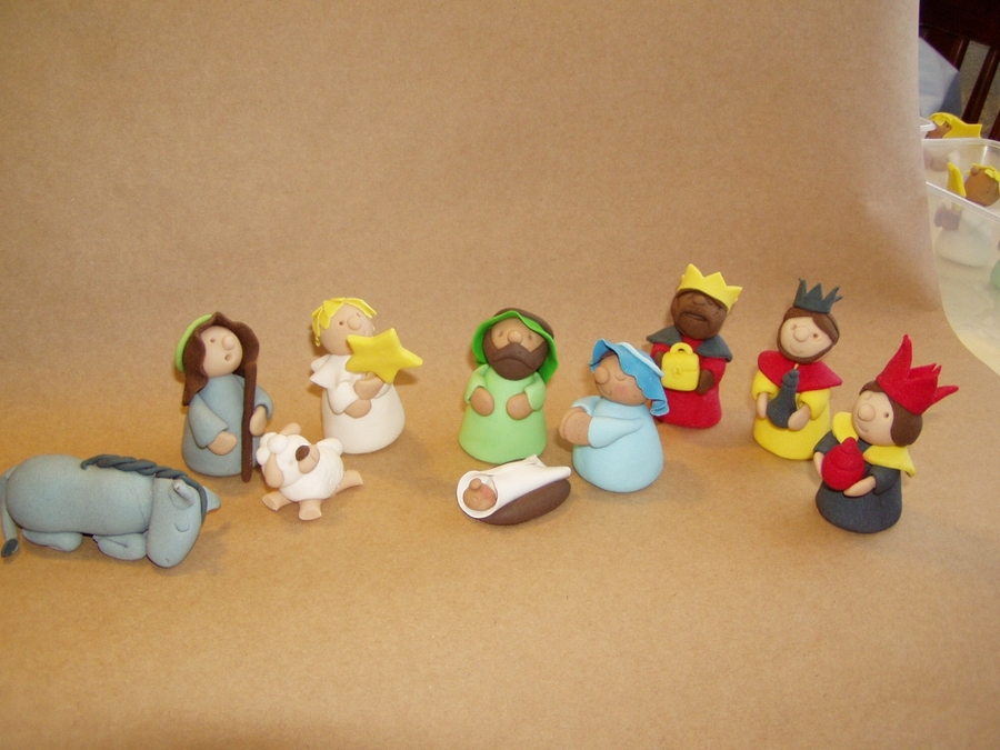 Nativity Cake Decorations Cakecentral Com