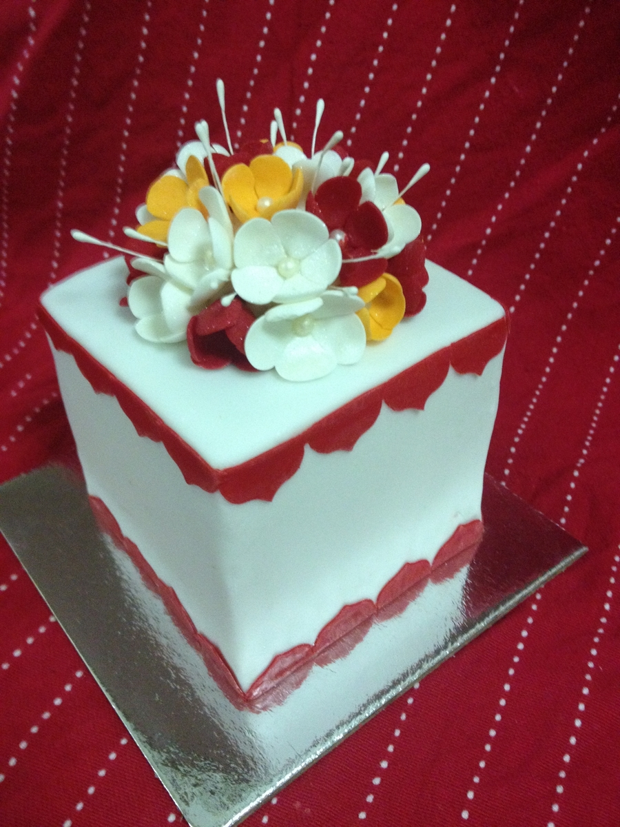Blossom Bouquet on Cake Central