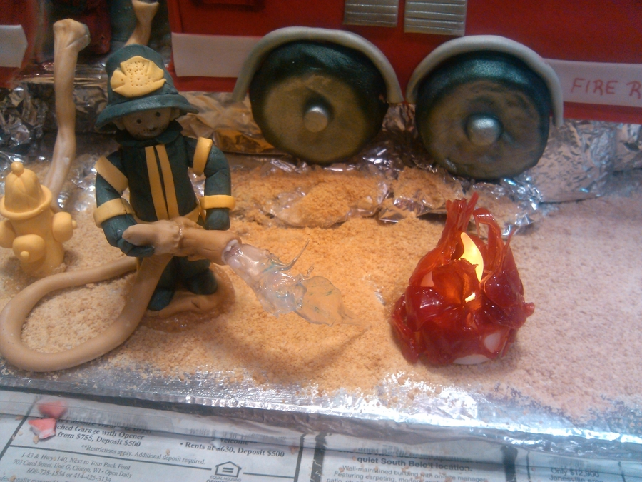 Fire Man Bill on Cake Central
