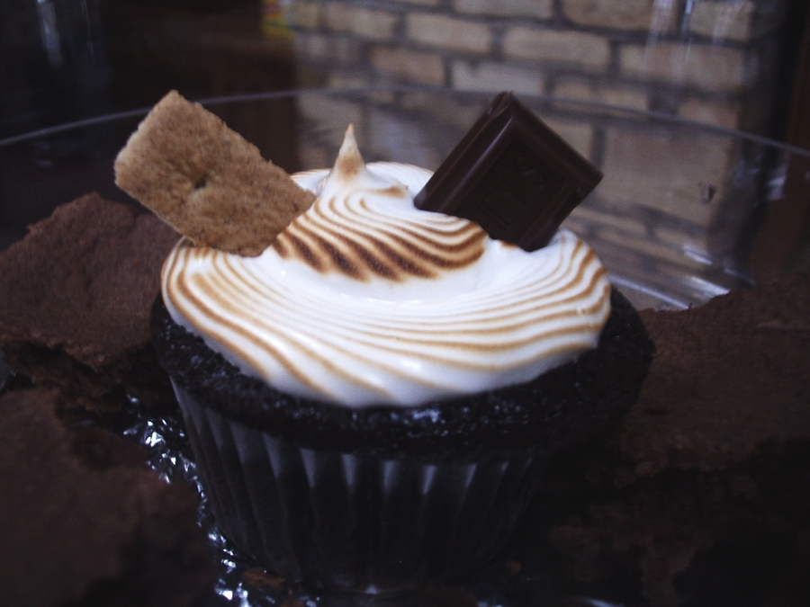 Smores Cup Cakes on Cake Central