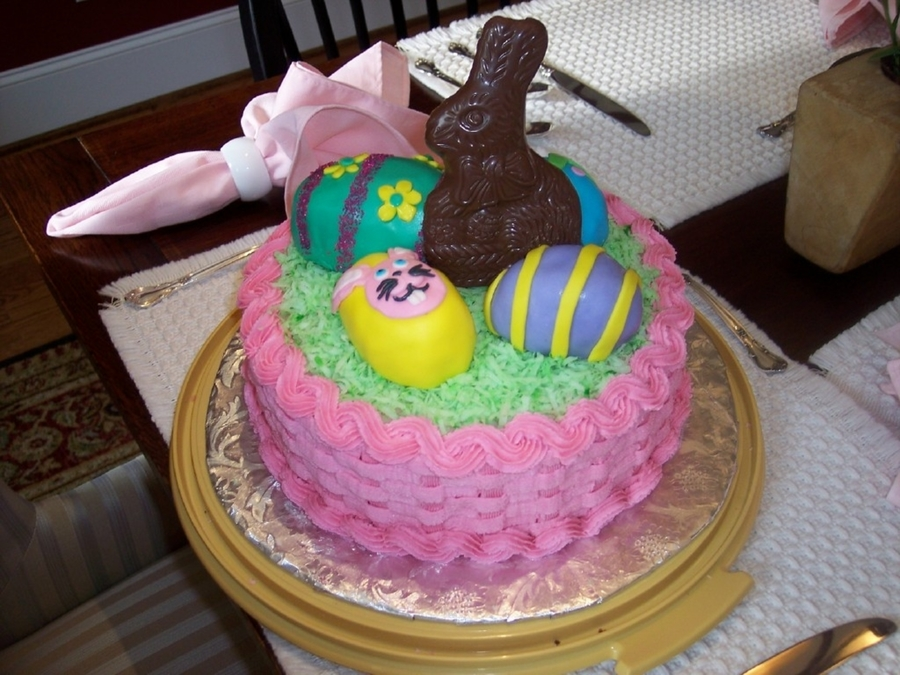 My Birthday/easter Cake on Cake Central
