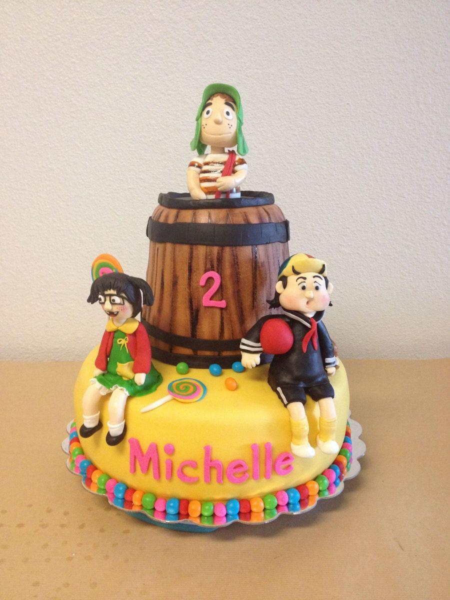 Chavo Del  Cake Ideas
