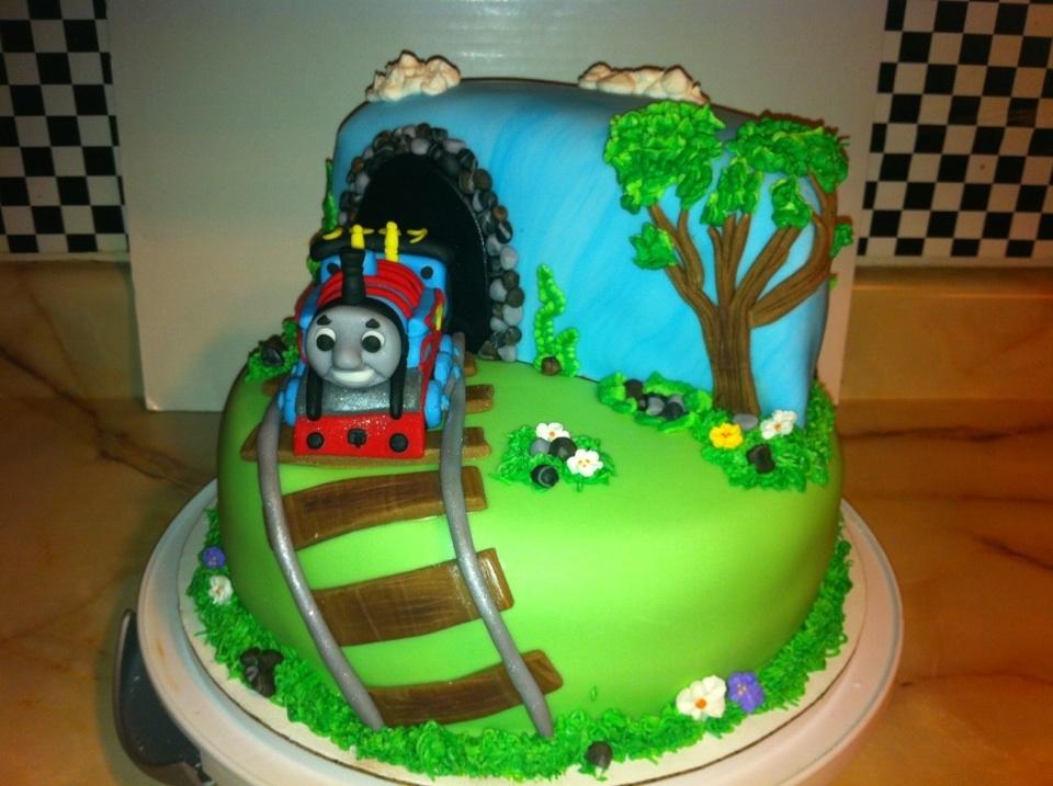 Thomas The Train Cake Cakecentral Com