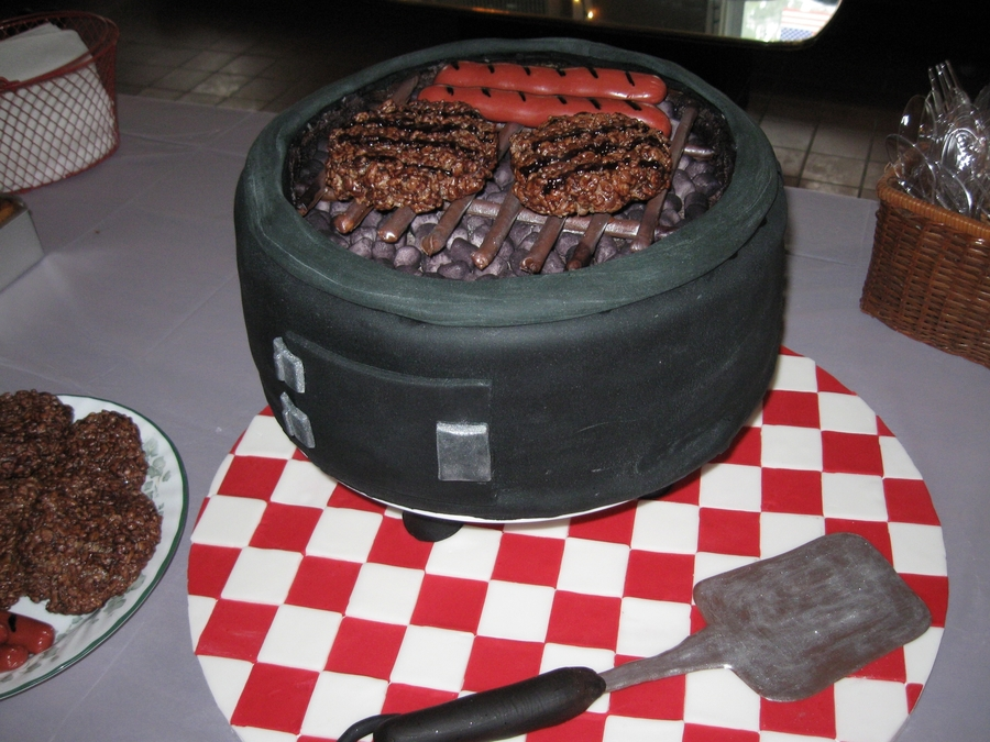 Labor Day Bbq Grill on Cake Central