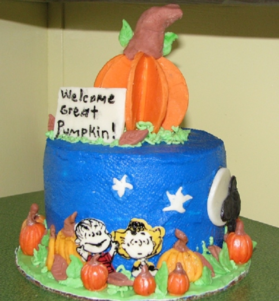 The Great Pumpkin on Cake Central