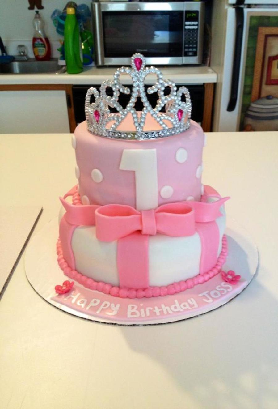 1St Birthday Princess Cake CakeCentralcom