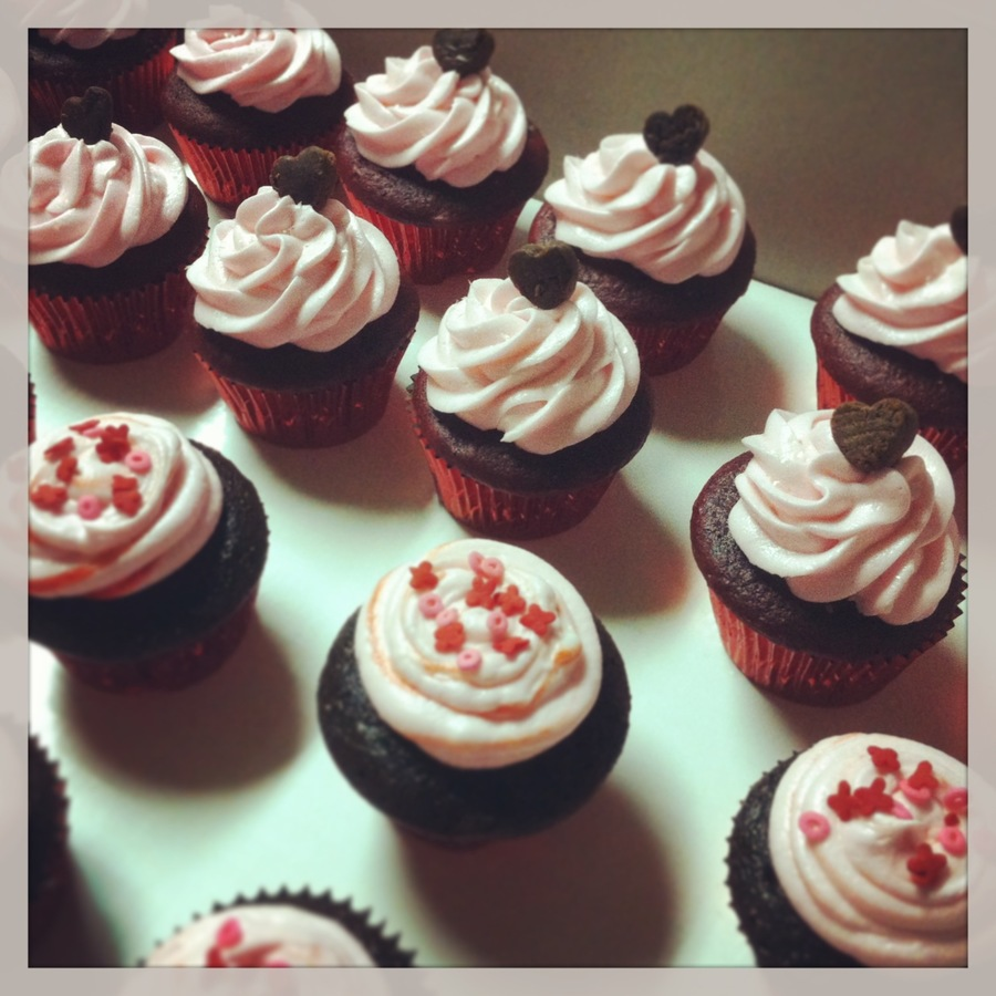 Valentine's Day Cupcakes on Cake Central