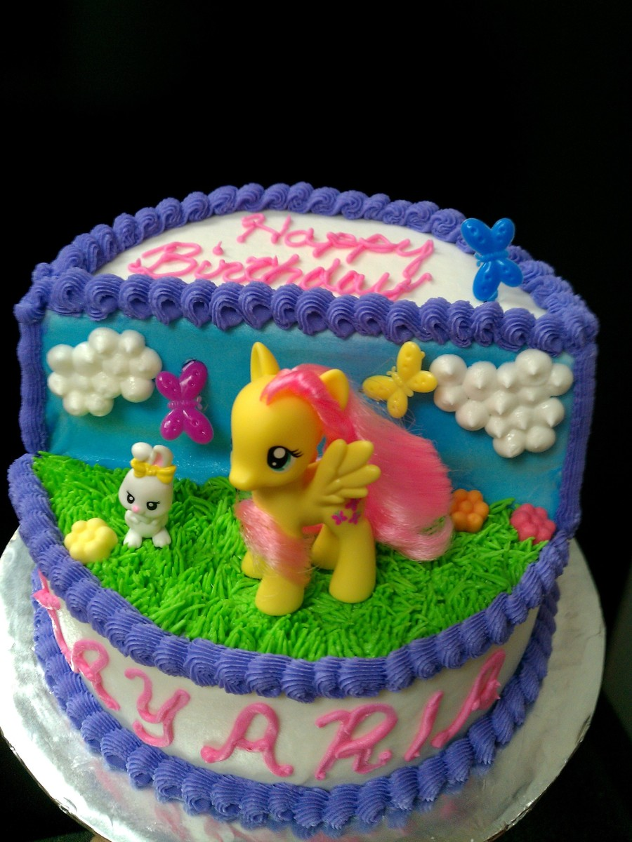 My Little Pony Fluttershy Birthday Cake Cakecentral Com