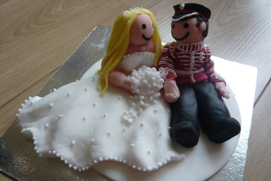 Wedding Cake Topper  on Cake Central