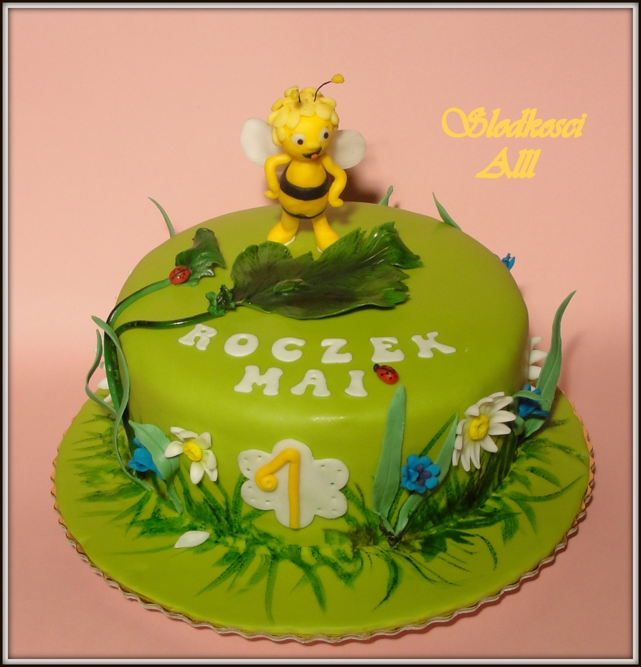 Maya Bee Cake on Cake Central