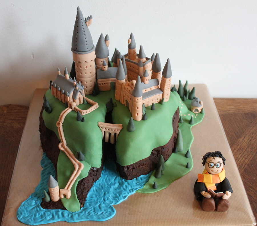 Harry Potter Castle Cake Decorating Kit Instructions Prezup for