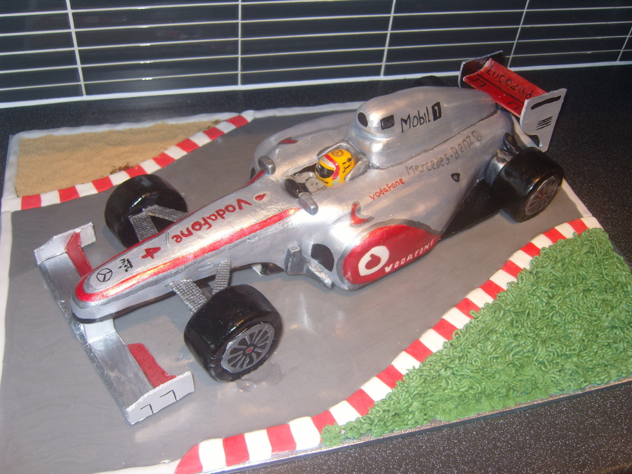 Lewis Hamiltonmclaren F1 on Cake Central