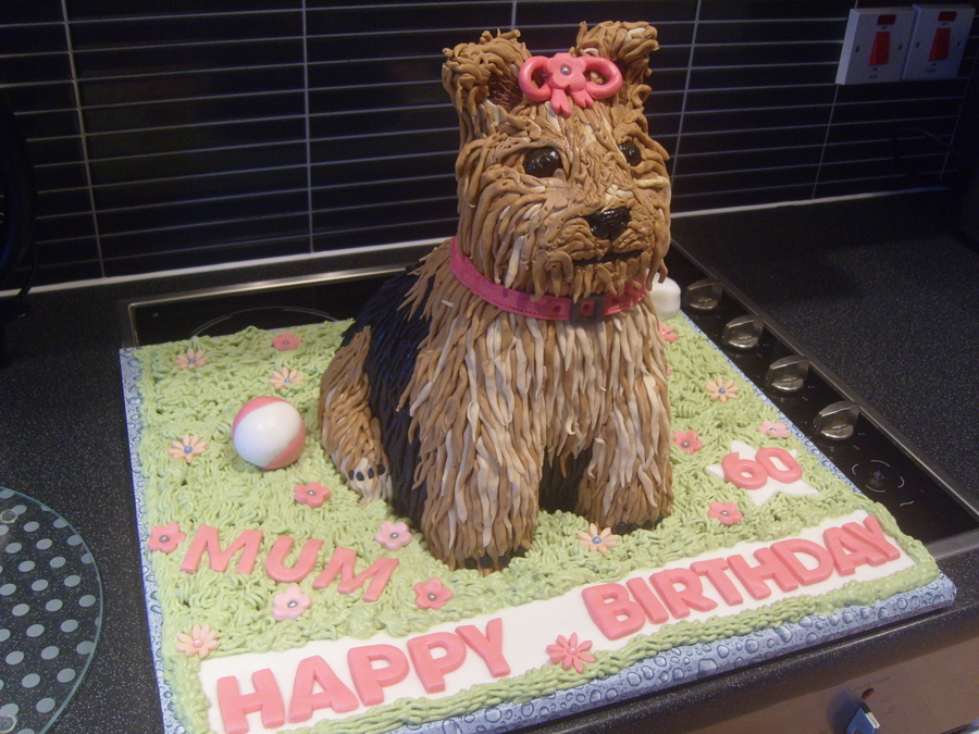 My Latest Cakeyorkshire Terrier on Cake Central