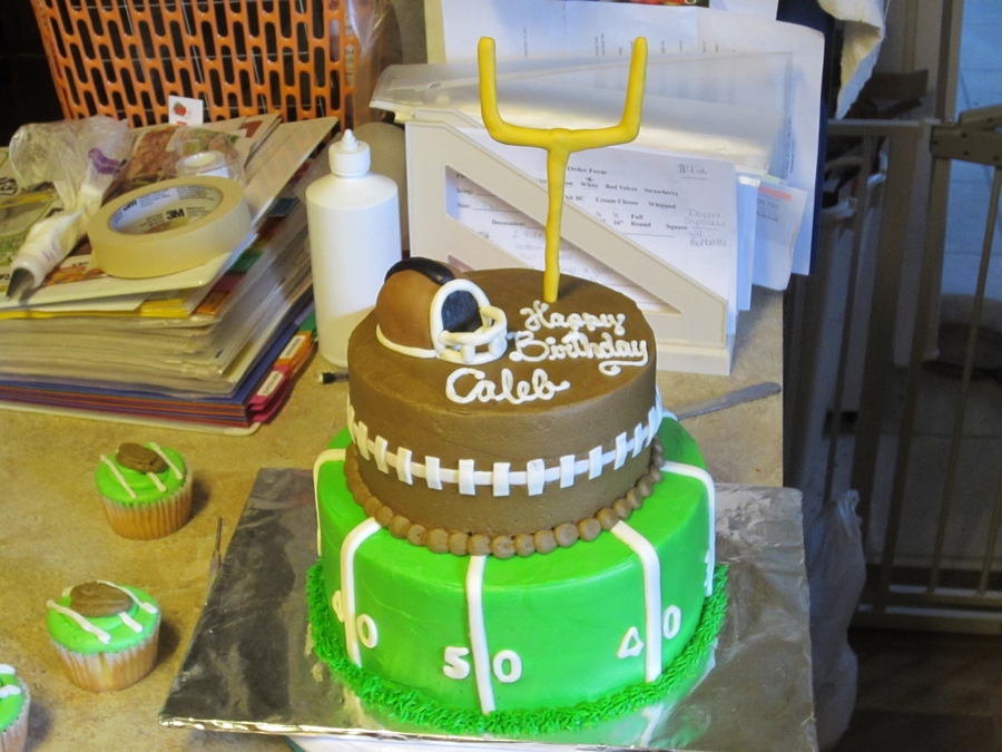 Football Birthday on Cake Central
